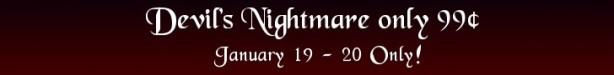 Devil's Nightmare 99 Cent Sale Banner