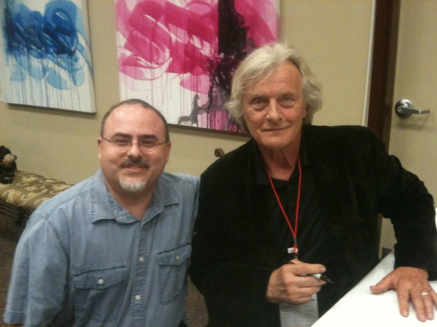 Me and Rutger Hauer - Victoria Indie Film Fest 2013