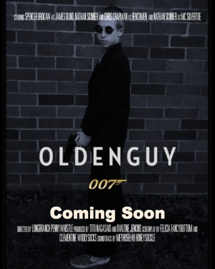 Olden Guy 007 Theatrical Poster