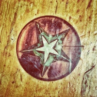 Great photo that Jan Hicks took of the Texas star on our table at Republic of Texas Restaurant at the River Walk in San Antonio.