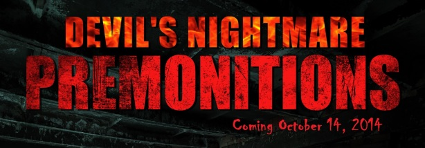 PREMONITIONS (Coming Oct 14) Banner