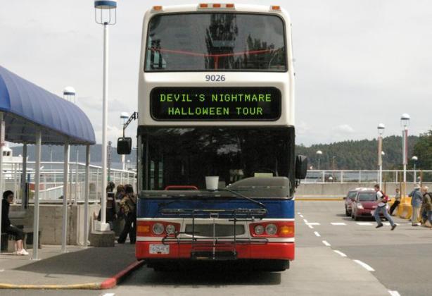 Devil's Nightmare Halloween Tour Bus