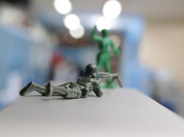 Miniature Toy Soldier via Pixabay