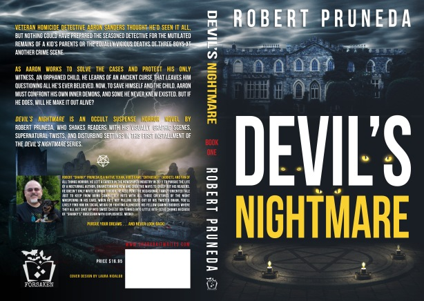 Devil's Nightmare (Forsaken Edition) Cover, designed by Laura Hidalgo