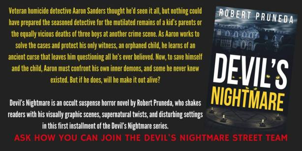 Devil's Nightmare Street Team Invitation