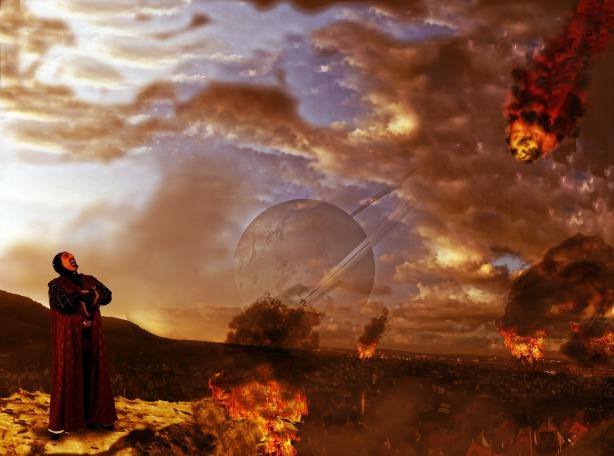 Fireball-Magic User (Pixabay end-of-the-world-342343_1920)