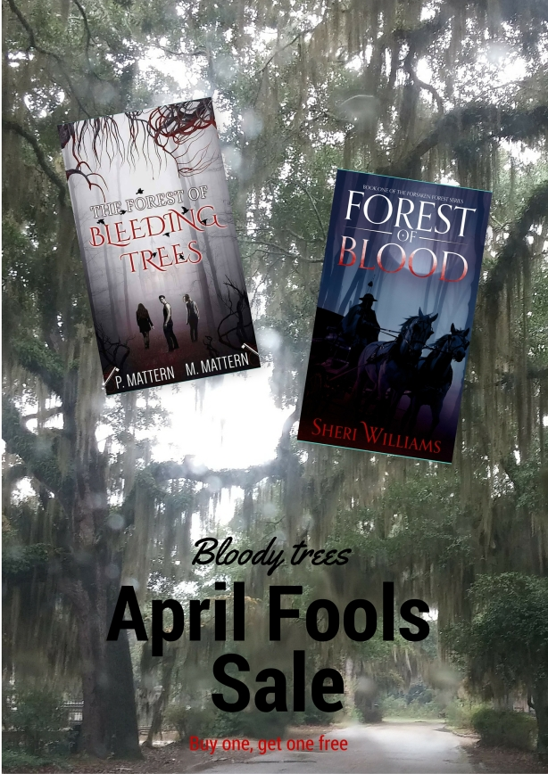 Bloody trees April Fools Promo